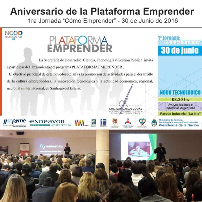 Plataforma Emprender Santiago del Estero 1ra jornada Como emprender
