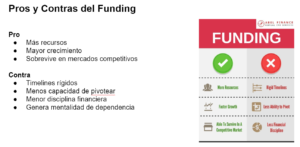 Pros y contras del funding