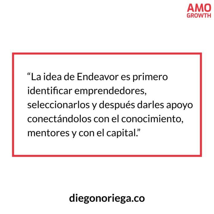 Frase diegonoriega.co - Idea Endeavor - AMO GROWTH