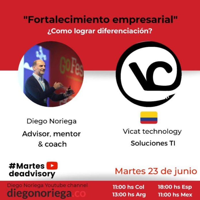 Mentoria Vicat Technology Fortalecimiento empresarial y personal