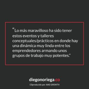 Frase DiegoNoriega.Co - AMO Growth - High Impact Training