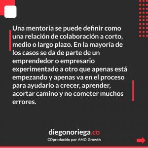 Que significa mentoria