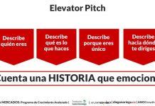 Elevator pitch historias